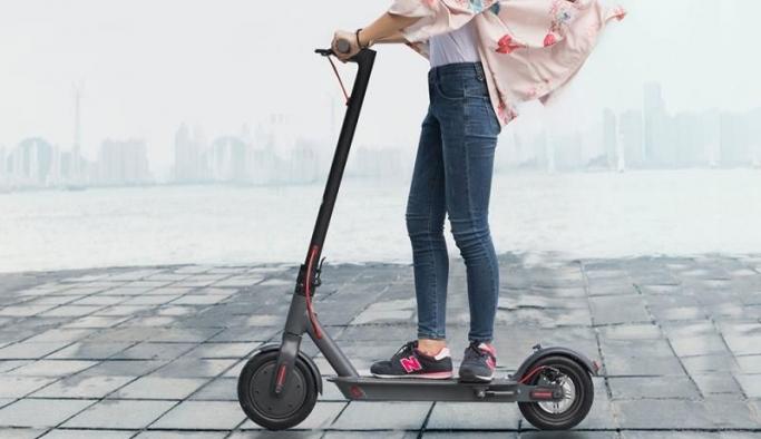 Elektrikli scooterlar ile  çevre dostu ulaşım