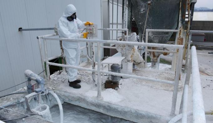 Virüse karşı atık su çıkışı 7 gün 24 saat izleniyor