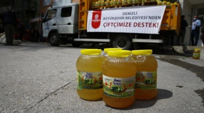 Denizli Büyükşehir Belediyesinde  çiftçilere destek