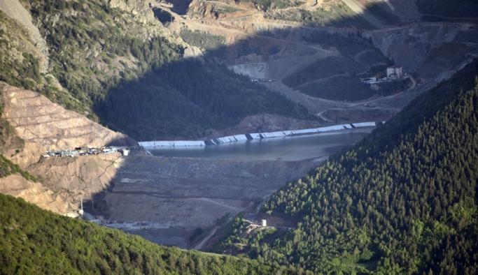 Çevreyi kirleten maden firmasına 404 bin lira para cezası