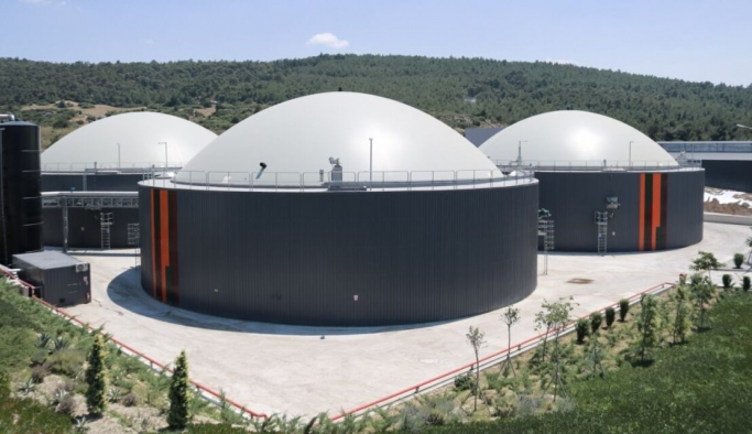 Foça Biyogaz Enerji Santrali tanıtıldı