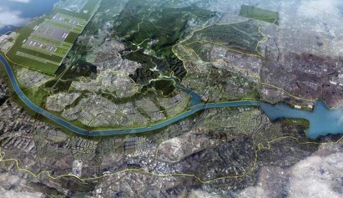 Kanal İstanbul civarındaki Şamlar Köyü'ndeki 2 milyon metrekarelik mera imara açılmış