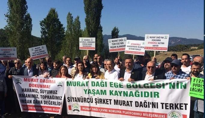 Murat Dağı'nda altın madeni işletmesi projesini iptal eden karar kesinleşti