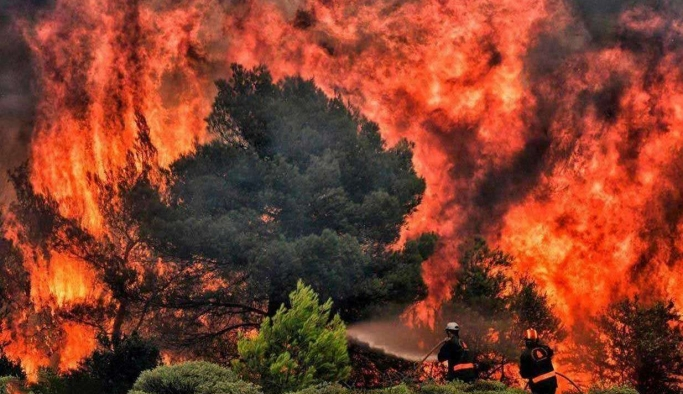 ABD'de devam eden yangınlar haftalarca sürebilir