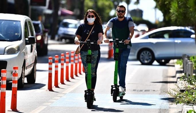 Elektrikli scooter'da pazar büyüdü, rekabet kızıştı