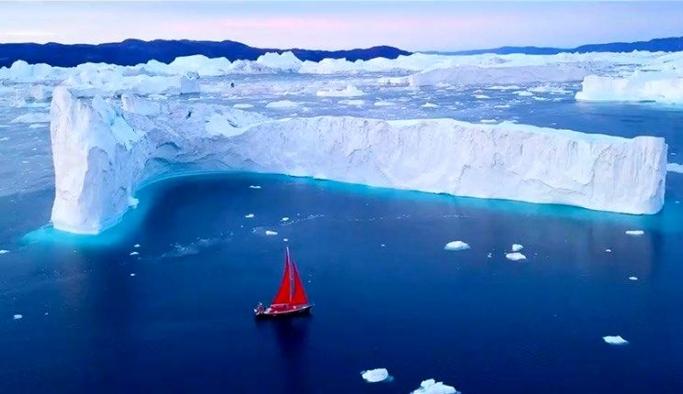 Grönland'da eriyen buzulların artık telafisi yok