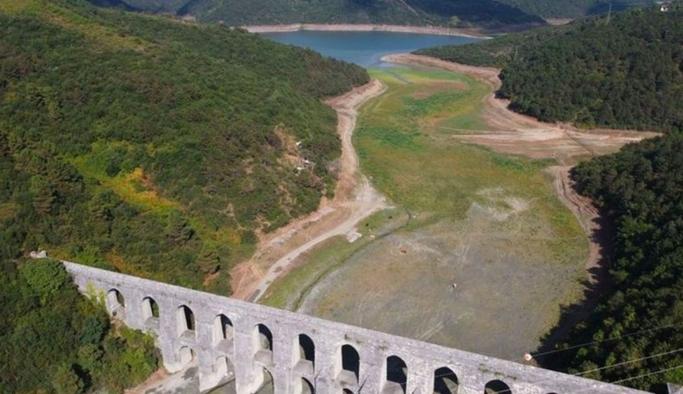 İstanbul barajlarında doluluk oranı yüzde 50'nin altına düştü
