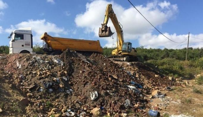 Sanayi atıklarını doğaya döken firmaya ibretlik ceza!