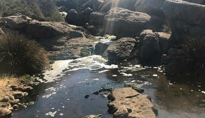 Bodrum'da atık suyun doğaya boşaltıldığı iddiası