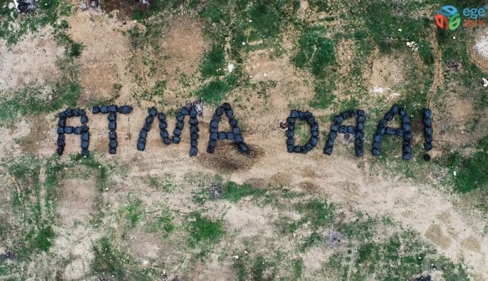 """Çevreyi kirletenlere Karadeniz şivesiyle sitem: """"Atma daa"""""""