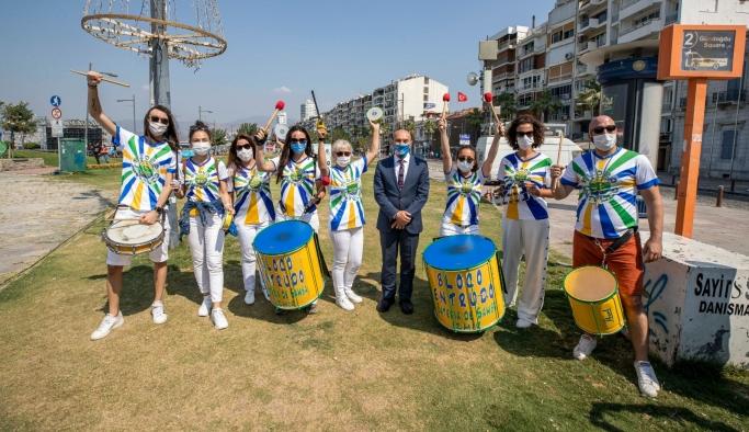 İzmir'de Otomobilsiz Kent Günü kutlanıyor