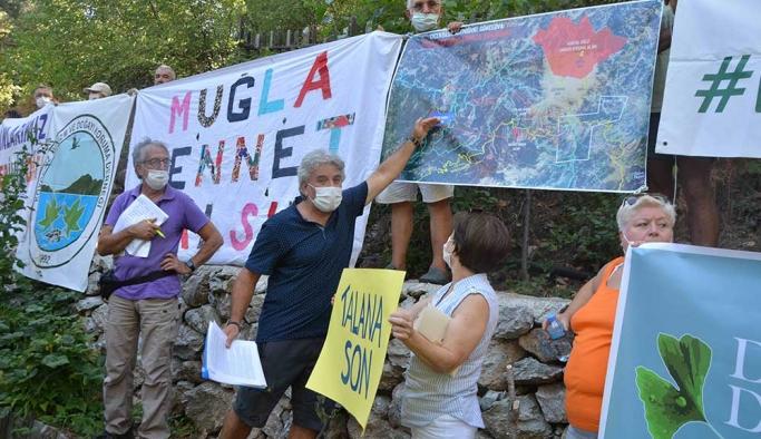 Köyceğiz'de 'maden ocağı kapasite artırımı projesine' tepki