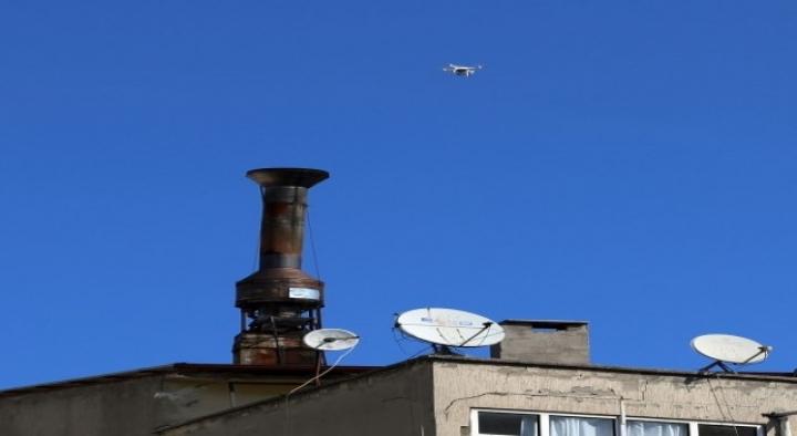 Türkiye'de bir ilk: Dronelar çevre için işbaşında