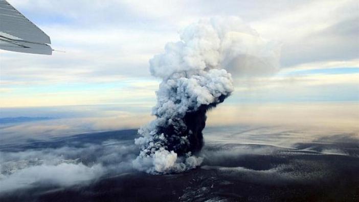 Grímsvötn patlamaya hazır saatli bir bomba