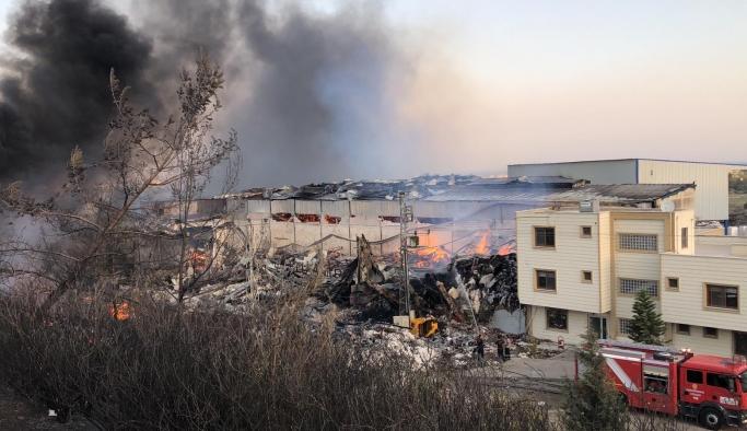 Hatay'da yerleşim yerlerine de sıçrayan orman yangınını söndürme çalışmaları devam ediyor