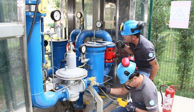 İzmir Doğal Gaz'dan 160 bin haneye çevre dostu doğal gaz