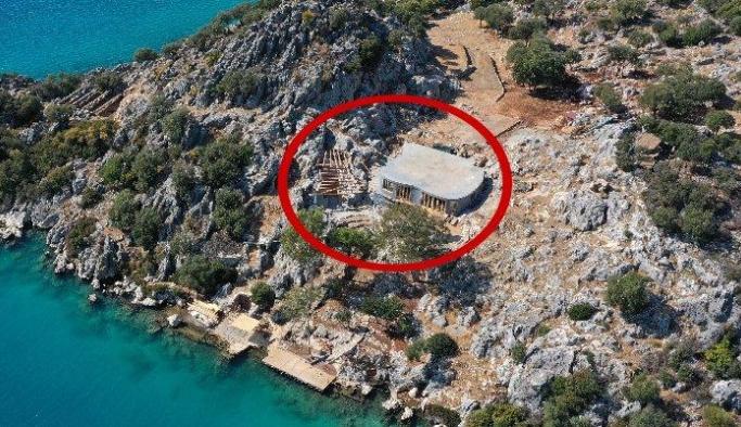 Yarımadadaki villa büyük tepki çekmişti! Bakanlık harekete geçti...