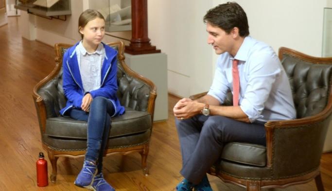 Kanada Başkanı Trudeau'ya, Greta şakası: 'NATO'dan ayrılın, çiçek toplayın'
