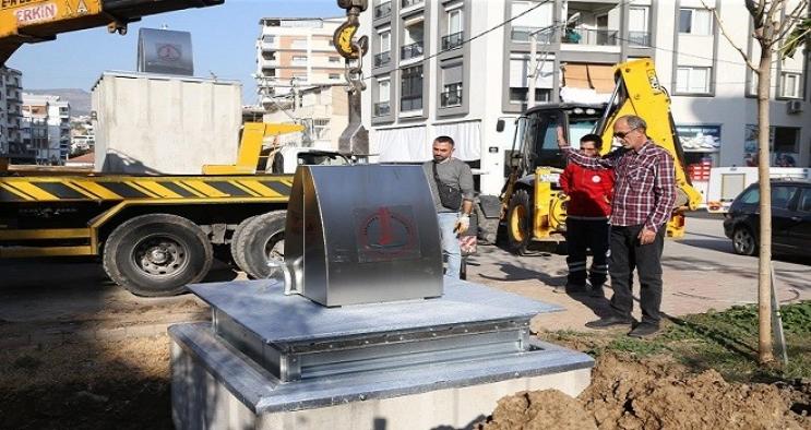 Karşıyaka'da çöp konteynerleri yer altına alınacak