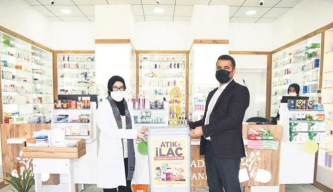 Kullanılmayan ilaçların toplanarak imha edilmesi için yeni bir proje