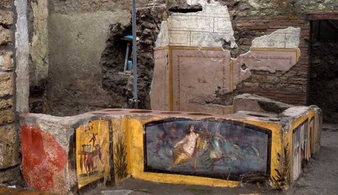 Pompeii'de 2 bin yıllık bir fast food dükkanı bulundu