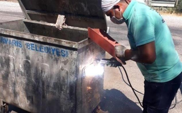 Çöp Konteynerinden 412 Bin TL tasarruf ettiler