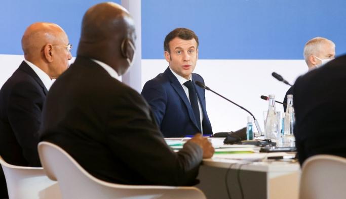 Emmanuel Macron, 'Tek Gezegen Zirvesi'nde konuştu