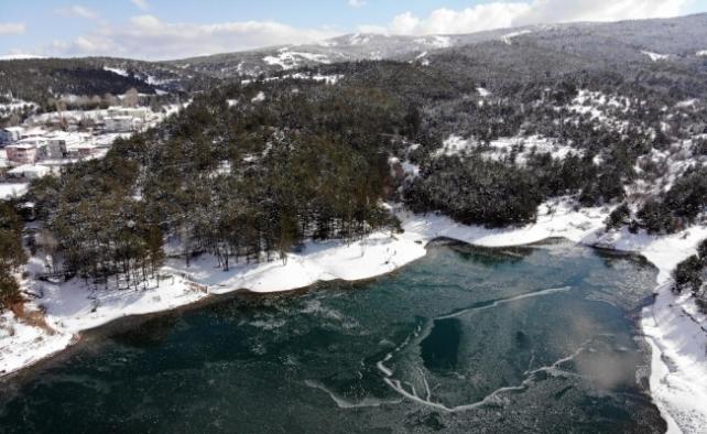 Türkiye'nin ilk milli parkı havadan görüntülendi