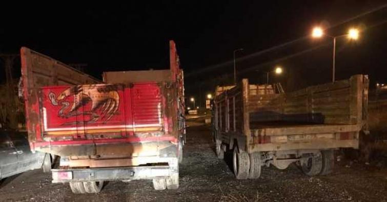 3 tondan fazla kimyasal atığı çevreye boşaltan iki kişi suçüstü yakalandı!