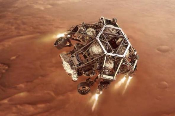Tarihi gün! NASA'nın uzay aracı Mars'a iniş yaptı