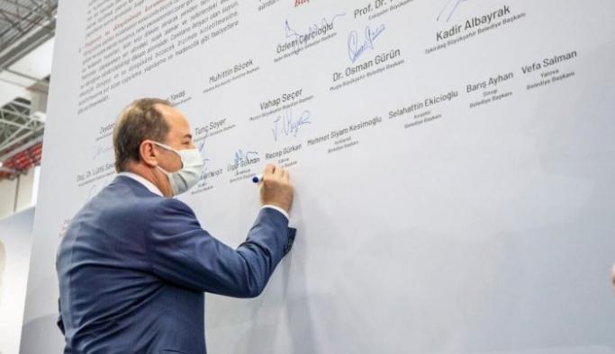 22 belediye başkanı 'Su Manifestosu' imzaladı
