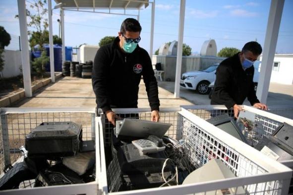 Bodrum'da 850 ton atık geri dönüşüme kazandırıldı