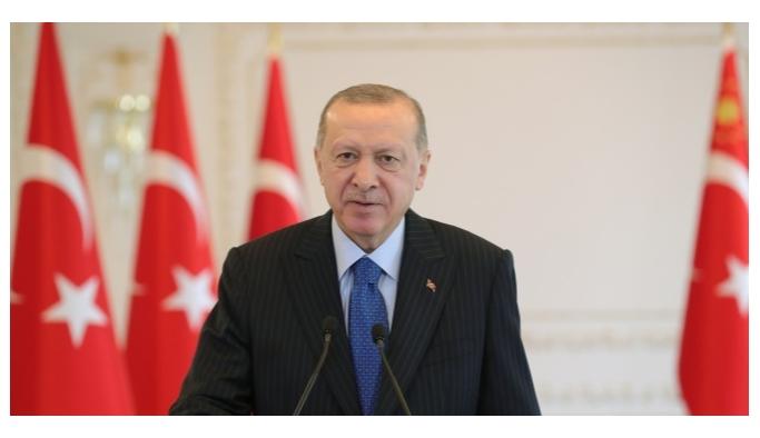 CUMHURBAŞKANI ERDOĞAN: 'MECLİS'TE BİR SU KANUNU HAZIRLIYORUZ'