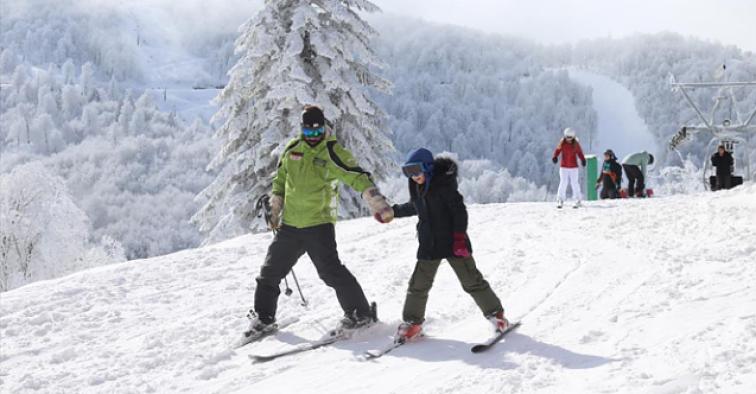 İklim değişikliği kayak sezonunu ileri kaydırdı