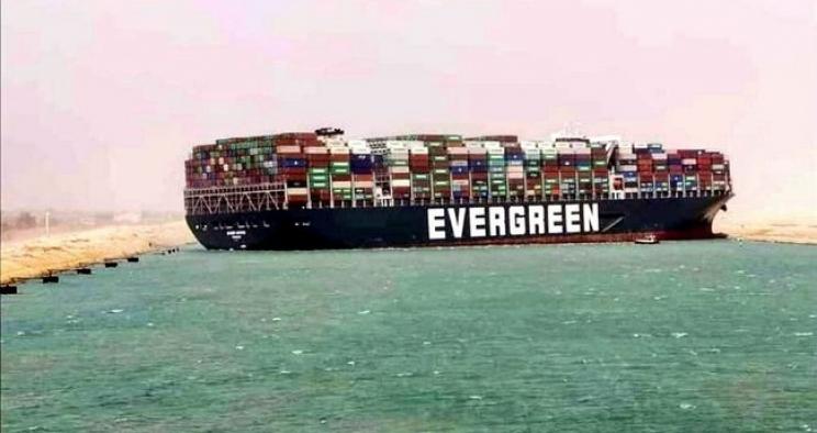 Süveyş Kanalı'nda sıkışan gemi dünya lojistik sektörünün gündemini değiştirdi