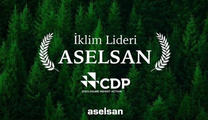 ASELSAN İklim Lideri Ödülü aldı