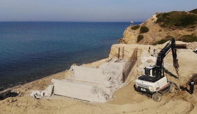 Doğal sit alanlarında bulunan 688 kaçak yapı yıkıldı!