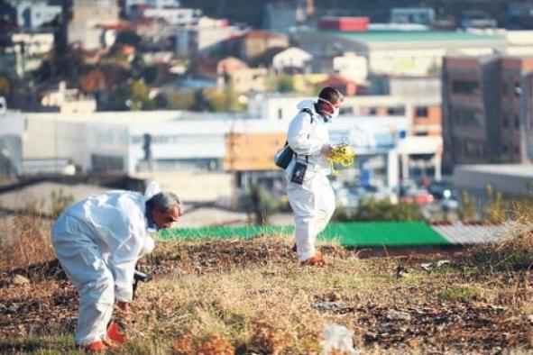 Gaziemir'deki zehirli atıklara karşı Belediye Başkanı Arda'dan eylem