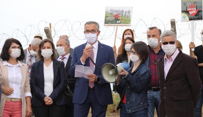 İzmir'in Çernobili için belediye başkanından eylem