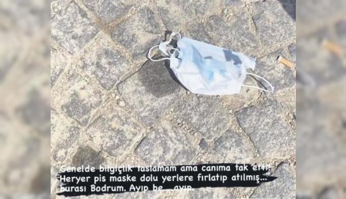 Irmak Ünal, çöp görüntülerini paylaşıp isyan etti: Gerçekten çok yazık