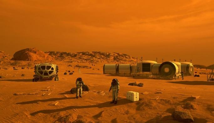 Mars'taki gizemli yer şekilleri astronotlara umut oldu
