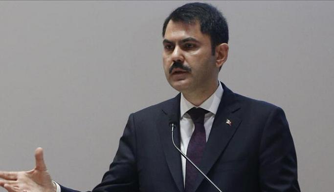 Murat Kurum, iklim değişikliğiyle mücadele çalışmalarına ilişkin bilgi verdi