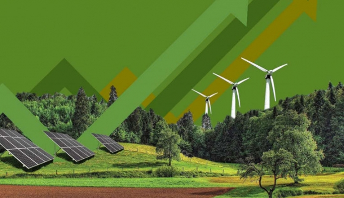 Yeşil enerjide kapasite yükselişi devam ediyor
