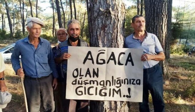 """Akbelenliler, bayramı ormanda nöbet tutarak geçiriyorlar: """"Ormanlarımızı kurtarırsak asıl bayramı o zaman yapacağız"""""""