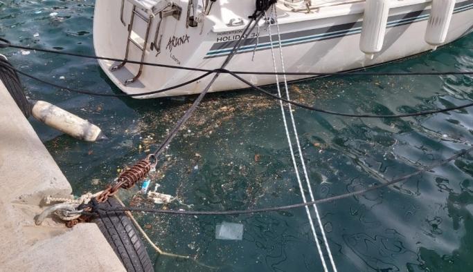 Datça'da denizde oluşan kirlilikle ilgili inceleme başlatıldı