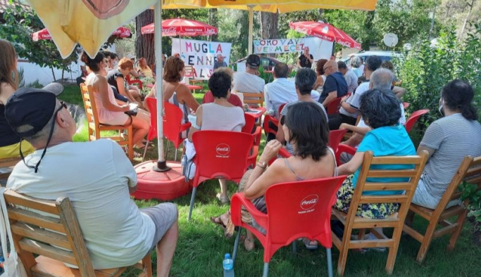 Muğla'da kamu mallarının özelleştirilmesine tepki: Muğla cennet kalsın