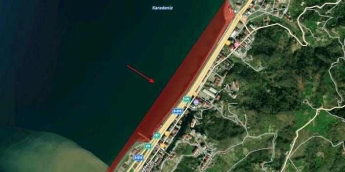 Hopa'daki sahil dolgusuna yürütmeyi durdurma kararı