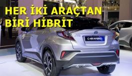 Satılan Her iki Toyota'dan Biri Hibrit olacak...