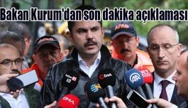 Bakan Kurum'dan son dakika açıklaması: ''Karadeniz'e ilişkin eylem planımızı açıklayacağız''
