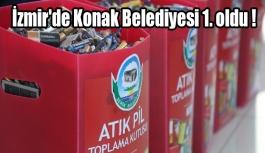 İzmir'de Konak Belediyesi 1. oldu !